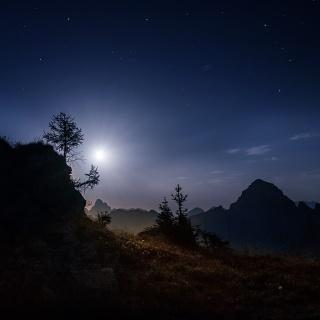 11/12 marzo 2017 Dolomiti, la luna tra i giganti.