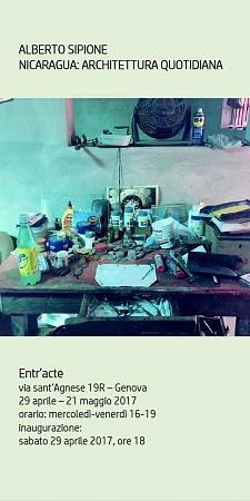 Genova -Italia  29.04.2017-18.05.2017     Galleria Entr'Acte