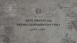 PREMIO LEONARDO DA VINCI - FIRENZE 24 OTTOBRE -5 NOVEMBRE 2019