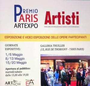 PREMIO PARIS ARTE EXPO '21 - Galleria Thuiller 8 maggio 2021