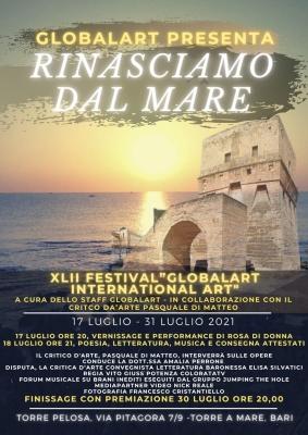 RINASCIAMO DAL MARE - TORRE A MARE BARI 17 LUGLIO 2021