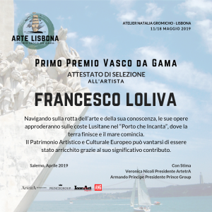 ARTE LISBONA 2019 Premio Vasco da Gama 11/18 Maggio