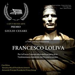 PREMIO GIULIO CESARE -  ROMA 15-22 GIUGNO 2019
