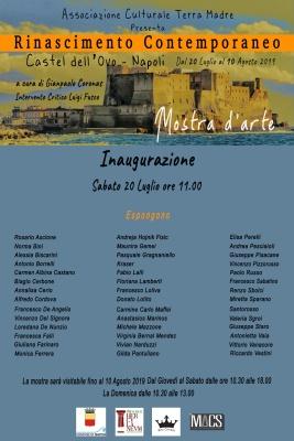 RINASCIMENTO CONTEMPORANEO NAPOLI 20 LUGLIO  2019