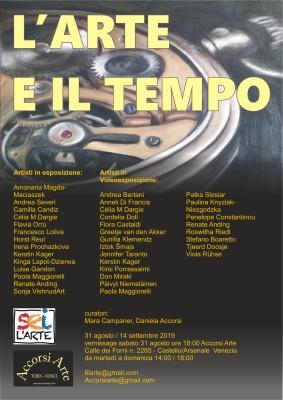 L'ARTE E IL TEMPO - VENEZIA 31 AGOSTO 2019