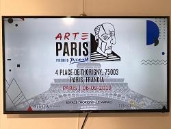 Arte Paris 2019  Premio Picasso 6/8 Settembre