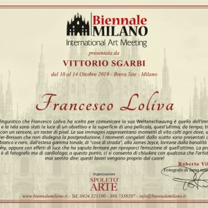 ROBERTO VILLA - BIENNALE MILANO 2019