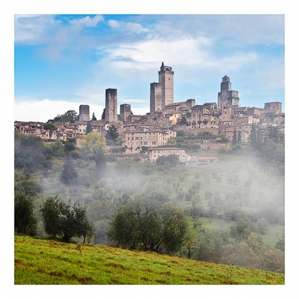 San Gimignano in colours