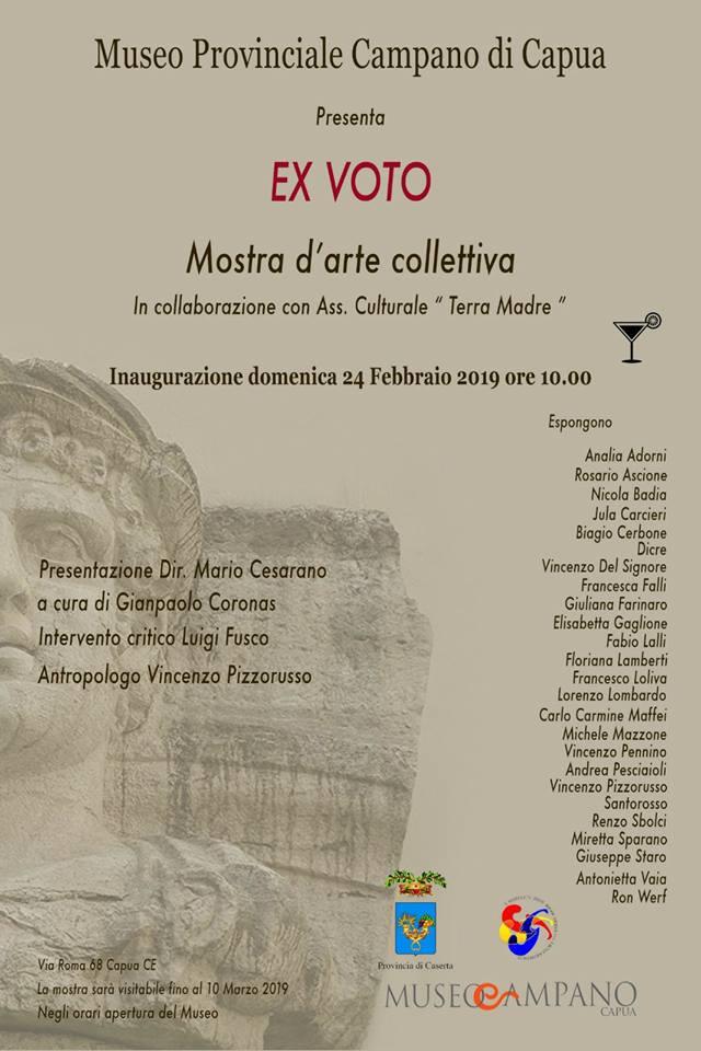 EX VOTO - Museo campano di Capua 24 febbraio 2019