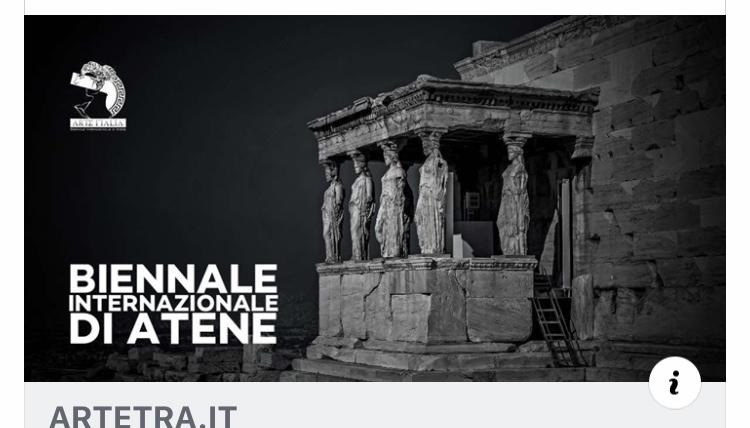 BIENNALE ARTE  ATENE  - 5 dicembre  2019