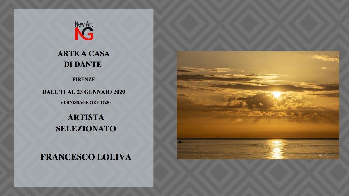 ARTE A CASA DI DANTE -FIRENZE 11-23 GENNAIO 2019