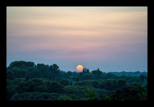 TRAMONTO IN COLLINA#1